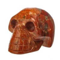 Red Jasper Crystal Skull No3