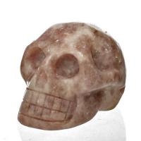 Lepidolite Crystal Skull No2