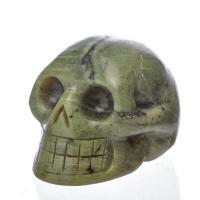 Nephrite Jade Crystal Skulls No4