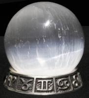 Satin Spar Selenite Ball (m)