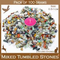 Mixed Tiny Tumble Stones 100g