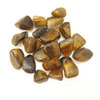 Small Gold Tiger Eye Tumble Stones 1-1.5cm