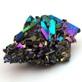 Titanium Rainbow Aura Quartz