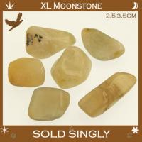 Extra Large Moonstone Tumble Stones