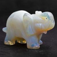 Opalite Elephant No1 5.3cm tall