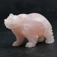 Rose Quartz Bear No1