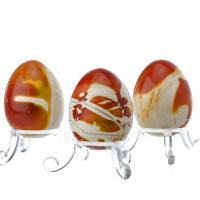 Colorful Mookaite Gemstone Eggs
