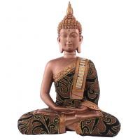 Thai Buddha Sitting with Sash, Gold Effect