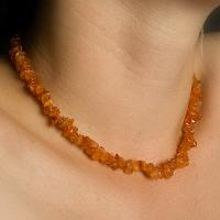 Carnelian Chip  Necklaces