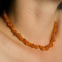 Carnelian Chip  Necklaces