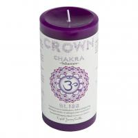 Crown Chakra Candle by Crystal Journey