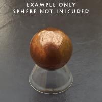 Small Plastic Cone Sphere Stand