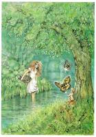 Fairy Glade, Greetings Card