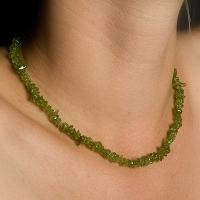 Peridot Chip Necklaces
