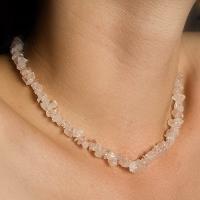 Rose Quartz Chip Necklaces