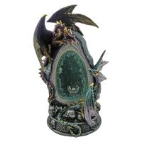 Altar Dragon Crystalline Rivalry 30cm tall