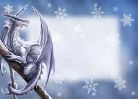 Fairy Yuletide Greetings Card
