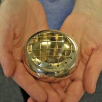 Brass Incense Jar for Charcoal