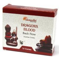 Dragons Blood Backflow Incense Cones Pack of 10 Cones