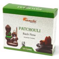 Patchouli Backflow Incense Cones Pack of 10 Cones