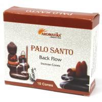 Palo Santo Backflow Incense Cones Pack of 10 Cones