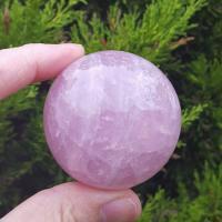 Rose Quartz Sphere No5 54mm, A grade