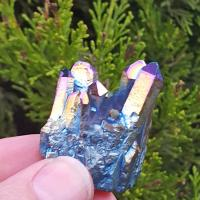 Titanium Rainbow Aura Crystal Group #7