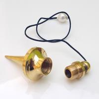 Chambered Spindle Brass Pendulum