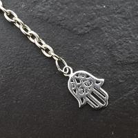 Pendulum Chain with Silver Hamsa