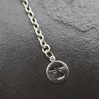 Pendulum Chain with Silver Angel Disc