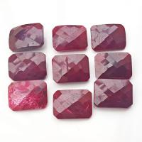 Ruby Gem Stones Faceted Cabochons