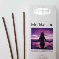Meditation Nitiraj Platinum Incense Sticks