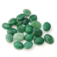 Emerald Gemtstone Faceted Oval