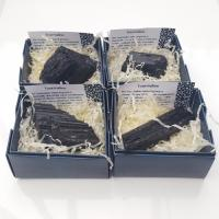 Black Tourmaline Specimen in Gift Box