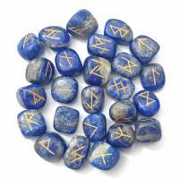 Lapis Lazuli Runes Stone Set