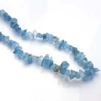 """36"""" Aquamarine Chip Necklace"""