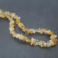 "36"" Citrine Chip Necklace"