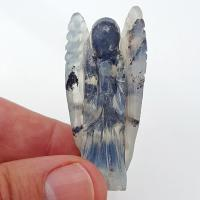 Hand Carved Merlinite Crystal Angel No5