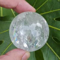 Lemurian Quartz Crystal Ball #B4 - 45mm
