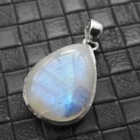 Moonstone Tear Drop Pendant #1