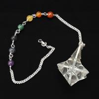 Quartz Crystal Merkaba Dowsing Pendulum