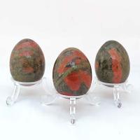 Unakite Gemstone Eggs