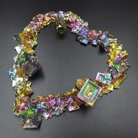Bismuth Crystalized Heart No1