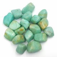 Peruvian Amazonite Tumble Stones 2-2.5cm