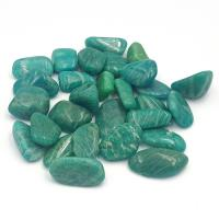 Small Dark Amazonite Tumble Stones 1-1.5cm