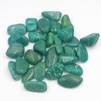 Small Dark Amazonite Tumble Stones 1-1.5cm