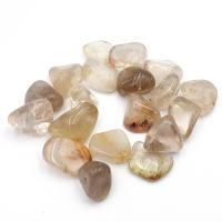 Small Rutilated Quartz Tumble Stones 1-1.5cm