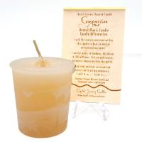 Compassion - Reiki Charged Votive Candle