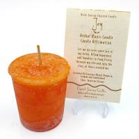Joy - Reiki Charged Votive Candle
