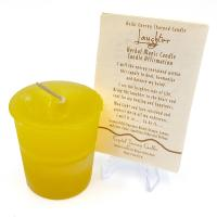 Laughter - Reiki Charged Votive Candle